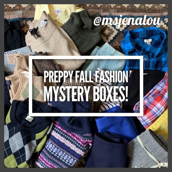 J. Crew Other - Preppy J. Crew Mystery Boxes (All EUC)